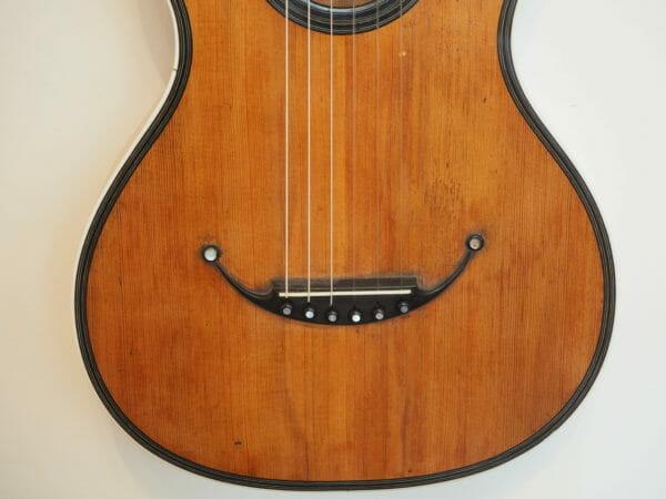 Pierre Marcard guitare romantique gitarrenbauer