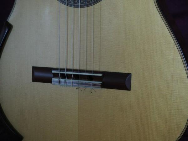 Jim Redgate Konzert gitarre Meistergitarre Meistergitarre gitarrenbauer lattice face bas