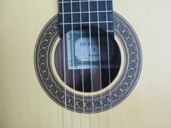 Jim Redgate Konzert gitarre Meistergitarre Meistergitarre gitarrenbauer lattice