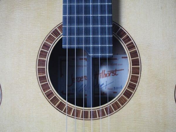 Konzert gitarre Meistergitarre Meistergitarre gitarrenbauer Jeroen Hilhorst Super-concert Nr. 118 16HIL118-09