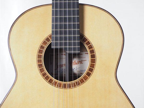 Konzert gitarre Meistergitarre Meistergitarre gitarrenbauer Jeroen HILHORST 16HIL118 -06