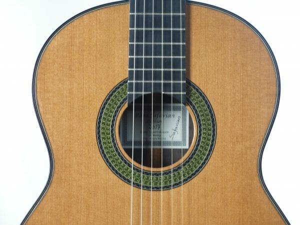 Konzert gitarre Meistergitarre Meistergitarre gitarrenbauer Reza Safavian 17SAF001-04