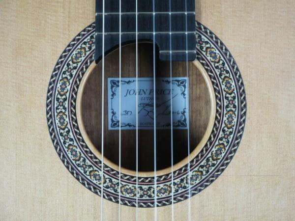 John Price gitarrenbauer meistergitarre Konzert guitar lattice beleistung