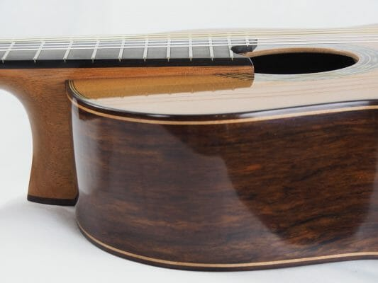 Luthier Keijo Korelin guitare classique double-table 17KOR093-10