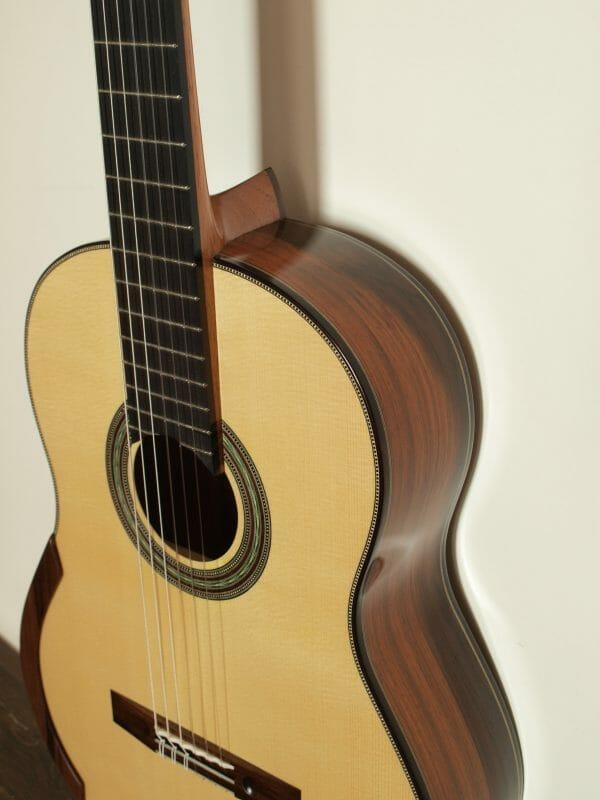 Klassische Meistergitarre Konzertgitarre du gitarrenbauer Stanislaw Partyka 15PAR004 -01