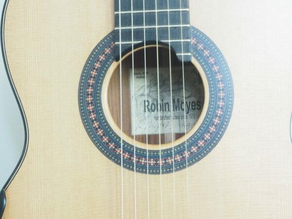 Robin Moyes gitarrenbauer klassische gitarre