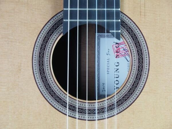 Young Seo Meistergitarre gitarrenbauer S Korea